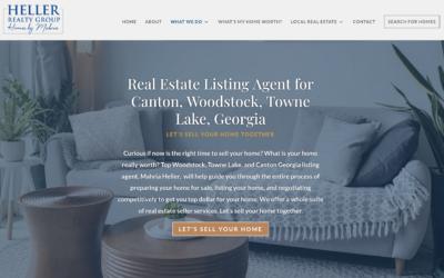 Heller Realty Group- Website Case Study
